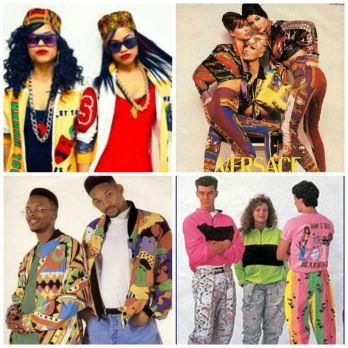 African Appreciation 90's Fashion