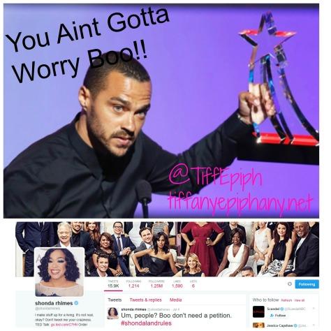 you aint gotta worry boo
