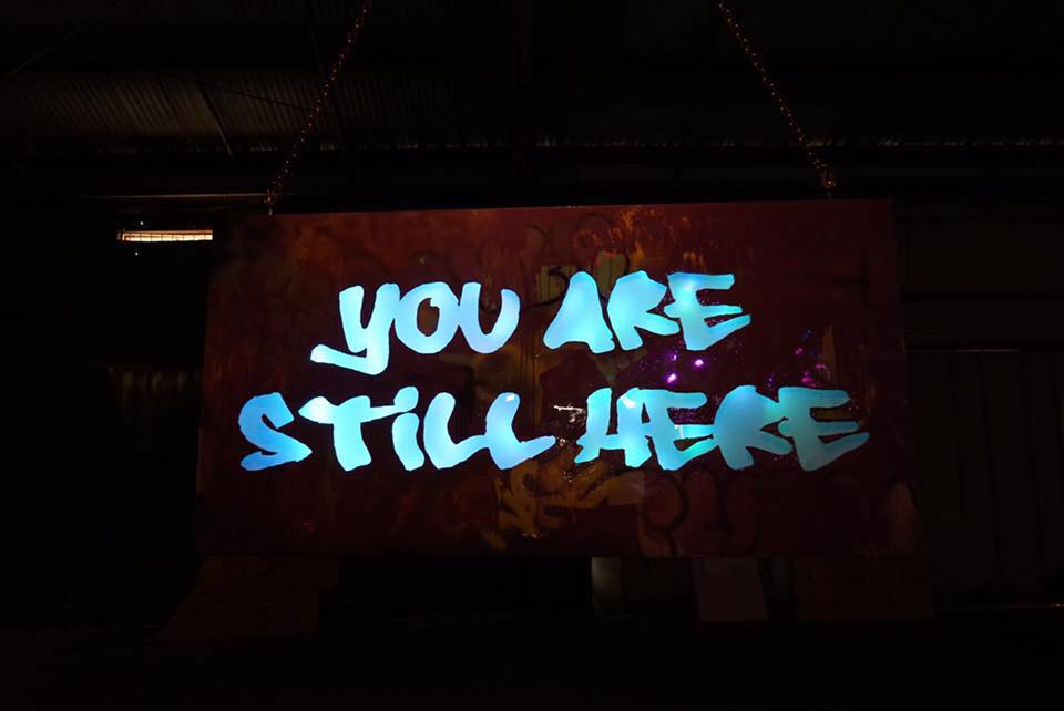 still here